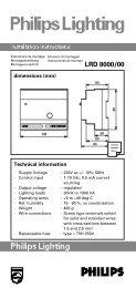 0722 LRD 8000 OPMAAK - Philips