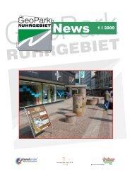 Newsletter 1/2009 - Geopark Ruhrgebiet