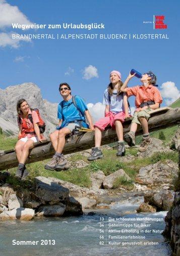 Wegweiser zum Urlaubsglück Sommer 2013