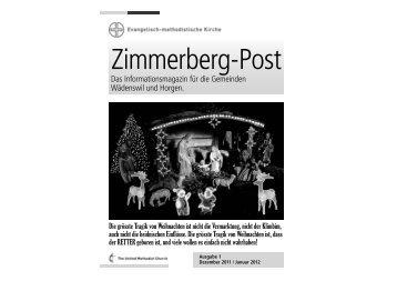 Ausgabe 1/12 - EMK Region Zimmerberg