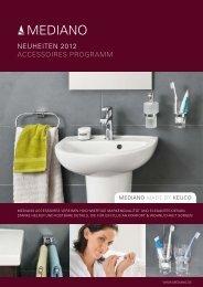 NeuheiteN 2012 Accessoires ProgrAmm