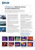 Wärmebildkameras für vorbeugende Instandhaltung - FLIR Systems - Page 2