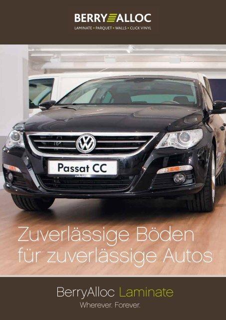 Brochure Volkswagen Ausstellungsräumen - BerryAlloc