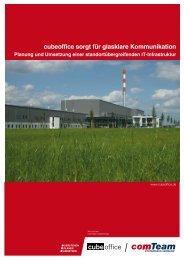Flexible Systemarchitektur: Beratung, Planung und ... - comTeam