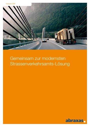 Gemeinsam zur modernsten Strassenverkehrsamts-Lösung