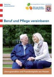 Beruf und Pflege vereinbaren - Beruf & Familie gGmbH
