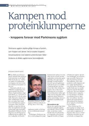 Kampen mod proteinklumperne