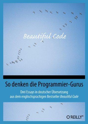 Beautiful Code - beim O'Reilly Verlag