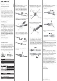 SIMATIC NET IE FC M12 Plug PRO 4x2   - Siemens