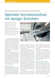 Optimaler Korrosionsschutz mit weniger Schichten - Dörken MKS ...