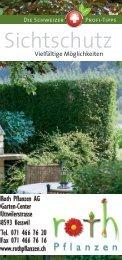 Sichtschutz - Roth Pflanzen AG