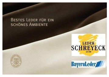 Möbelleder Katalog - Leder Schreyeck