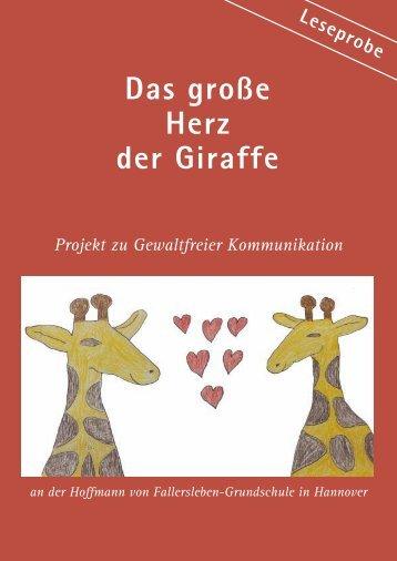 Das große Herz der Giraffe - Carsten Sperling