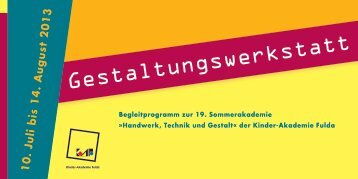 Download - Kinder-Akademie Fulda