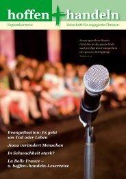 September 2012 - Evangelische Vereinigung für Bibel und ...