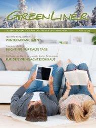 GreenLiner Magazin Winter 2013