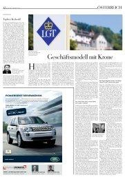 Geschäftsmodell mit Krone - Regierung des Fürstentums Liechtenstein