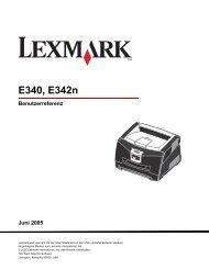 E340, E342n - Lexmark