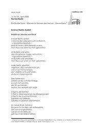 Text Münsterpfarrerin Tabea Frey (6 Seiten) - Ulm
