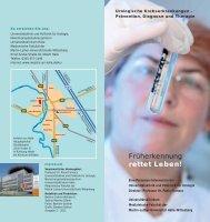 Urologische Krebserkrankungen Prävention, Diagnose und