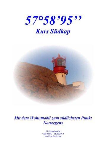 Kurs Südkap - MG Skandinavien Reisen