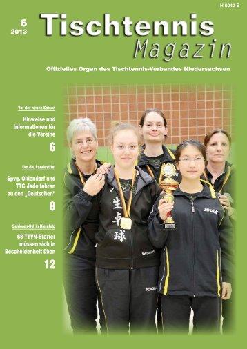 Magazin - Tischtennis-Kreisverband Helmstedt eV