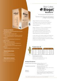 Biogel® NeoDerm - Mölnlycke Health Care