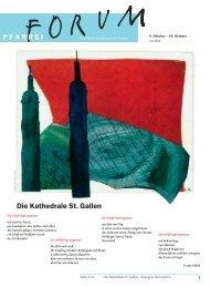Die Kathedrale St. Gallen - Pfarreiforum