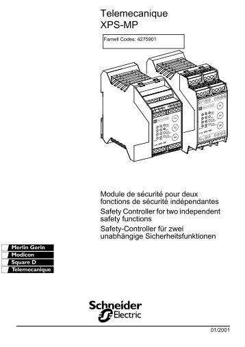 Telemecanique XPS-MP