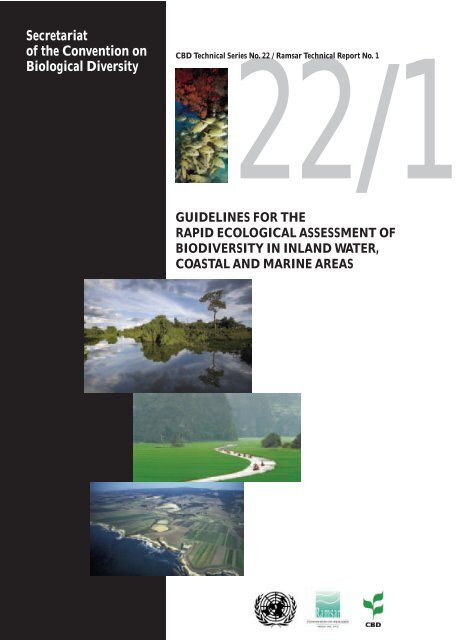 Guidelines for the Rapid Ecological Assessment - Convention on ...