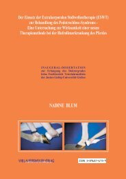 Der Einsatz der Extrakorporalen Stoßwellentherapie (ESWT) zur ...