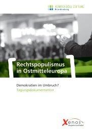 Rechtspopulismus in Ostmitteleuropa - Migration-online
