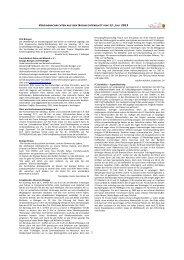 Vereinsnachrichten 12. Juli 2013 als PDF - Gemeinde Bisingen