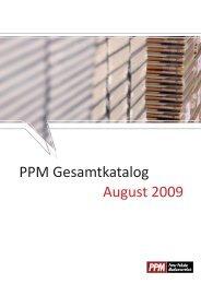 September 2008 - PPM Vertrieb