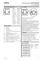 System Fläche-Taster 1-fach Inhaltsverzeichnis 1 ... - Eibmarkt.com
