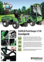 Egholm Park Ranger 2150 Grundmaschine