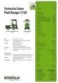 Egholm Park Ranger 2150 Grundmaschine - Page 2
