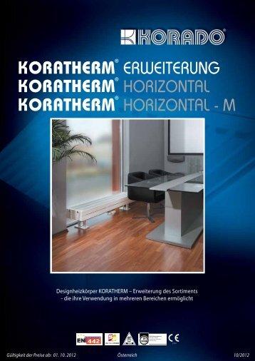 HORIZONTAL HORIZONTAL - M ERWEITERUNG - KORADO, as