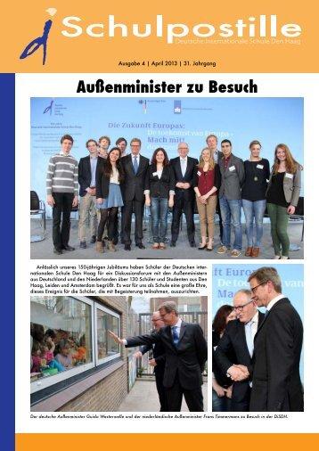 Außenminister zu Besuch - DiSDH