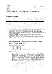 Zwischenbericht Stadtentwicklung - Warstein