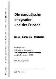 AP073(2005) J. Klopfer: Europäische Friedensordnung - DSS