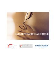 Baselbieter Patientenverfügung (PDF) - Palliative ch