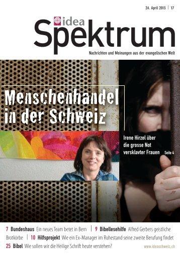 Ausgabe des idea-spektrums herunterladen. - Christliche Ostmission