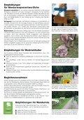 Rindvieh und Wanderwege - Schweizerischer Bauernverband - Seite 2