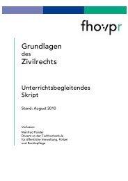 Grundfragen Zivilrecht - Fh-guestrow.de