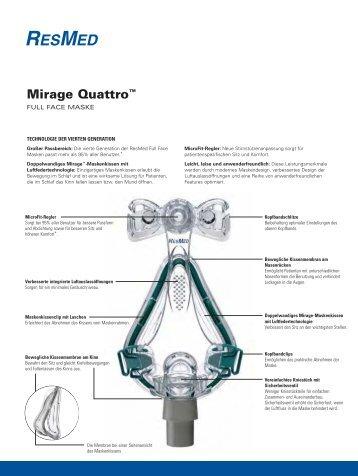 Mirage Quattro™ - ResMed