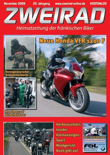 Neue Honda VFR 1200 F - ZWEIRAD-online