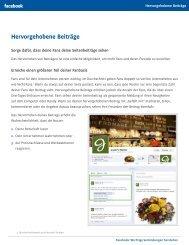 Hervorgehobene Beiträge - Fanpage Design für Ihr Marketing bei ...