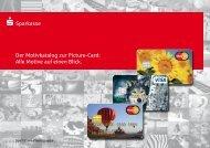 Kartenmotive - Sparkasse Rhein-Nahe
