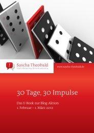 30 Tage, 30 Impulse - Sascha Theobald